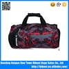 High quality wholesale China fashion wholesale colorful nylon sports bag gym bag duffel bag with shoes compartment