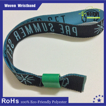 promotional product ideas for mini company event woven wirstbands