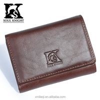 SK-8096 2016 new style OEM men genuine leather wallet wholesale factory price
