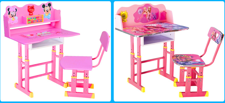 ... Small cartoon drawing painted kids study table/ kids table chairs/ children desk and chair ...  sc 1 st  Alibaba & Small Cartoon Drawing Painted Kids Study Table/ Kids Table Chairs ...