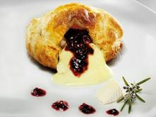 Camembert Coulant with Cranberry Marmelade
