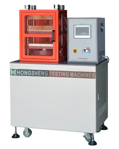 Lab Used Rubber Vulcanizing and Molding Press