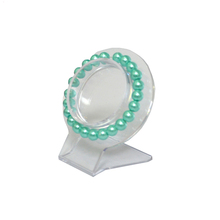 Wholesale 10Pcs Clear Jewelry Bracelet Display Holder Bangle Organizer Rack Acrylic Bracelet Display Collar Stand Holder