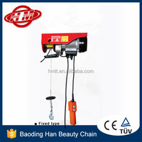 mini wire rope small overhead electric hoist