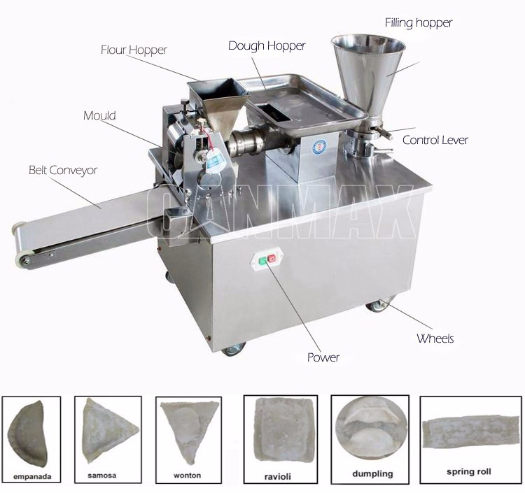 Lowest price household dumpling making machine