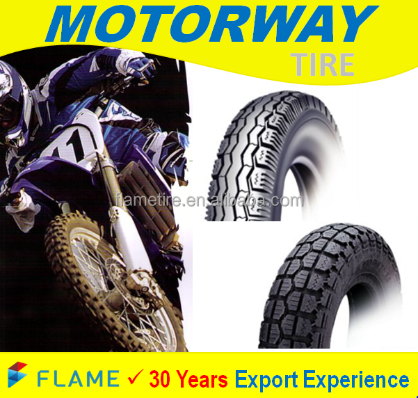 Asian Top Quality Rubber Motorcycle Tire 3.00-17