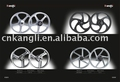 Motorcycle alloy wheels