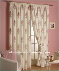 fancy curtains with embroidery