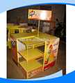 Customization metal promotion display stand for supermarket
