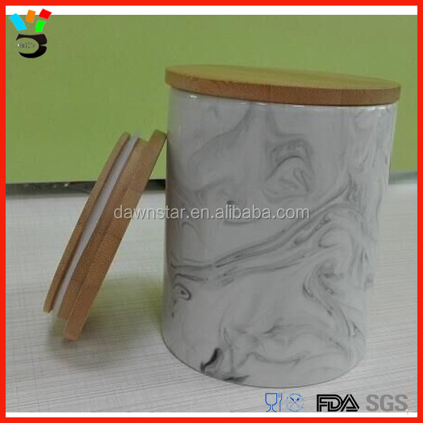 Awesome Stuff Decor. Ideas Marble Texture Abstract Design Vintage Beautiful Wood Cover Glass Wax Jar