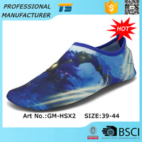 Breathable High Elastic Men Sell Walk On Aqua Water Shoes
