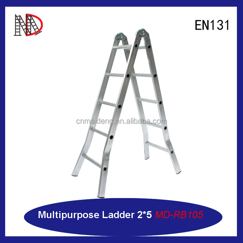 Aluminum multi-purpose ladder step ladder construction scaffold