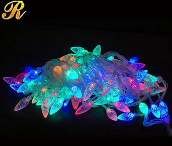Best sale white led meteor light for outdoor decoration