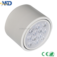 12W led down light Surface Mounted 90-260V 3 years warranty ip65 led downlight