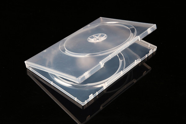 14mm new pp double clear case dvd