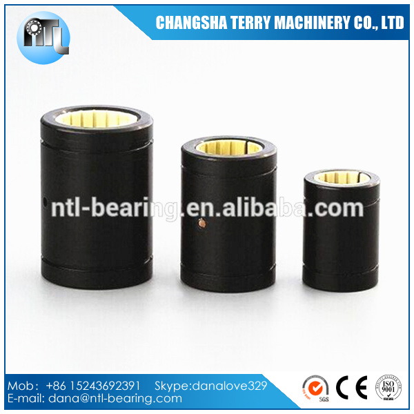 LM10UU LME10UU self-lubricating plastic linear motion ball bearings