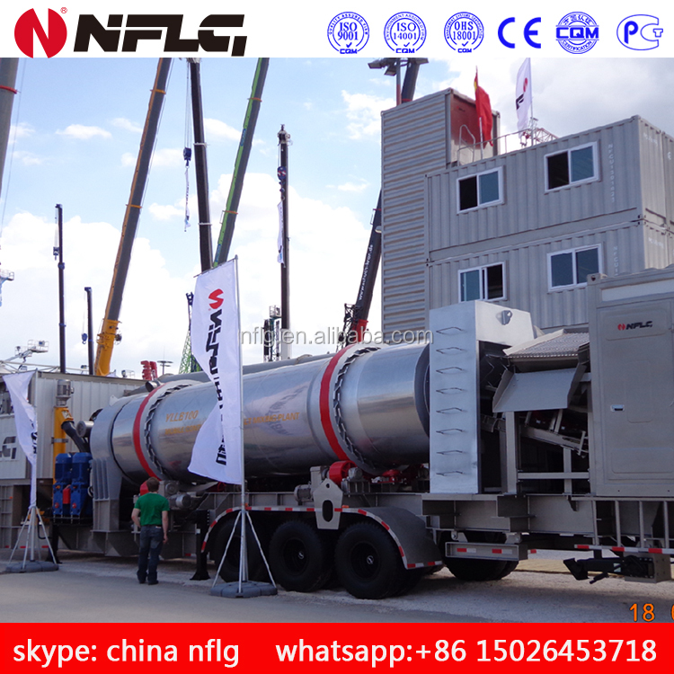 New designed factory price 40t/h hot mix asphalt batching plant
