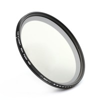 Slim 77mm ND Neutral Density Filter (Adjust From ND2 To ND400)