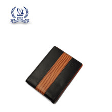 Famous designer custom brand men money clip leather
