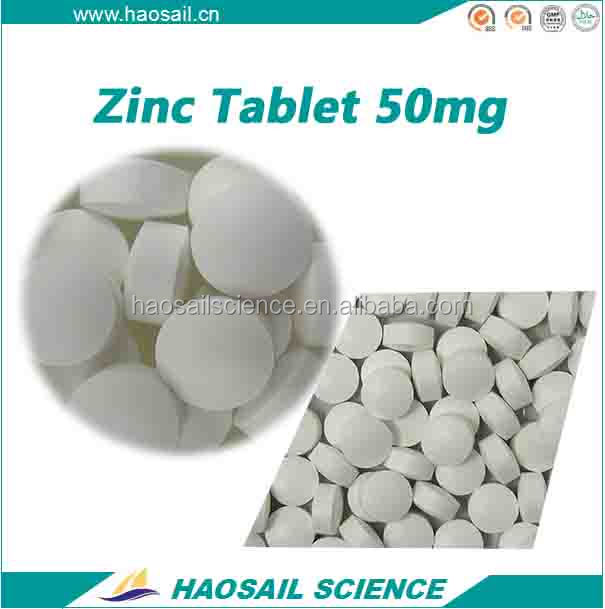 GMP Certified OEM Vitamin C & Zinc Effervescent Tablet