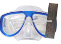 With tempered glass lens professional scuba diving mask for diving & swimming