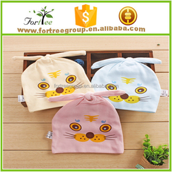 best selling unisex plain toddler cute cotton baby hats