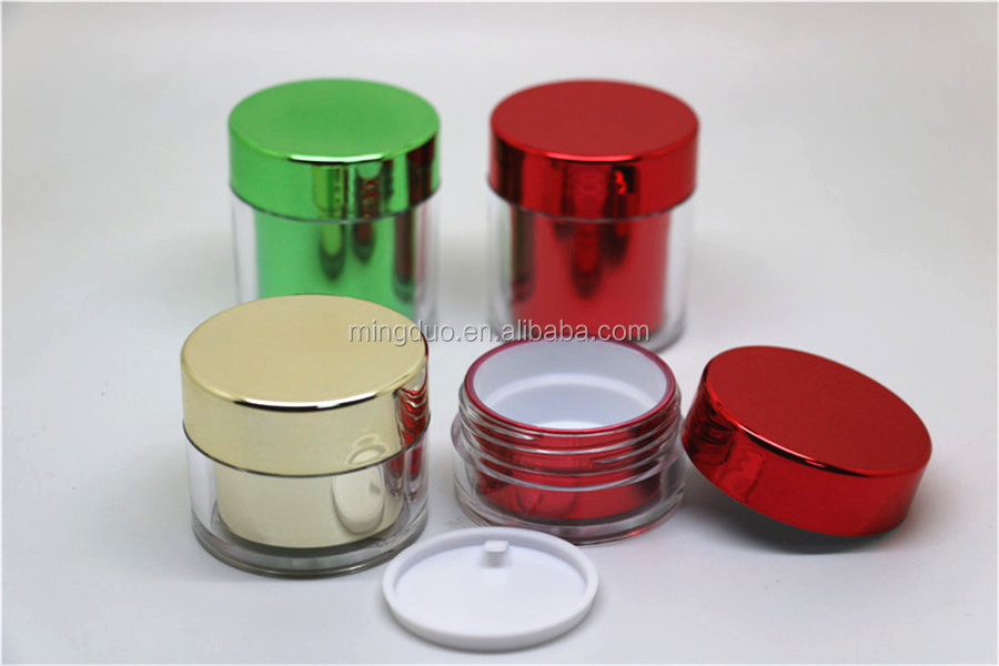 Luxury cosmetic bottle set