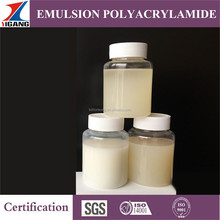 10 Years Experience Leading Manufacture Anionic/Cationic/Nonionic Polyacrylamide/PAM Emulsion