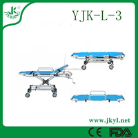 YJK-L-3 CE operation room emergency trolley hospital bed for hot sale