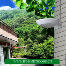 2016High quality outdoor wall mounted motion sensor solar LED light/sensor garden light