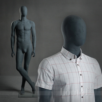 full body egg head male concrete rude raw mannequin wholesale