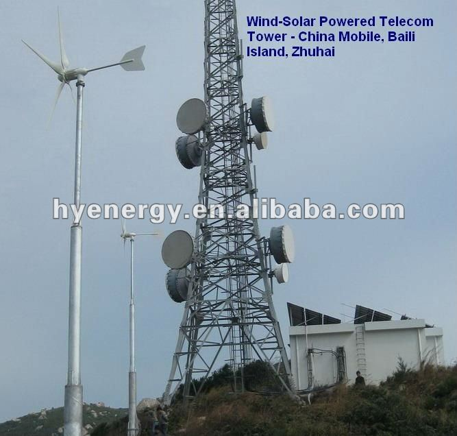 Wind and Solar Hybrid Power System for Telecom Base Station