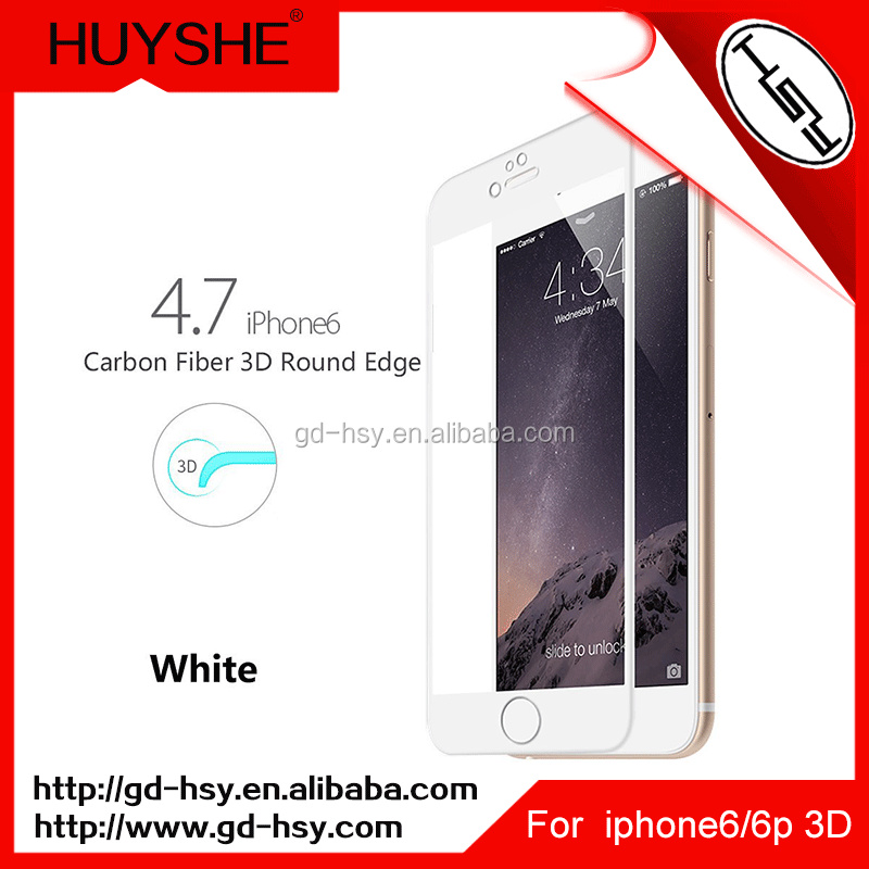 Huyshe 9h Best Supplier Of Screen Guard For iPhone 6/6plus Full Cover Tempered Glass Screen Protector