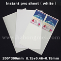 id card material 200*300*0.76mm size