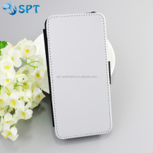 Heat transfer printing leather wallet phone case for S5 mini