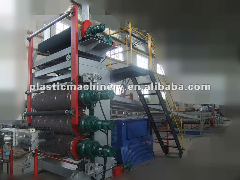 ABS Sheet Making Machinery,CE Plastic Sheet Plant