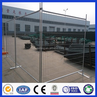 china manufacturer hot dipped galvanized temporary metal fence panels