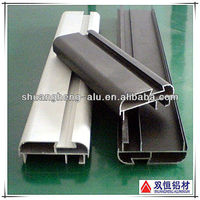 Surface Black Anodizing Aluminum Alloy Channel