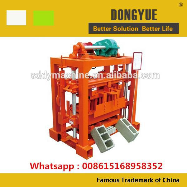 QTJ4-40 africa small investment solid brick machine