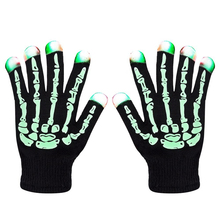 Colorful Flashing Lighting Fingertip Kids Glove Toys Led Gloves Bike