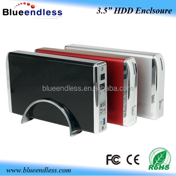 hard drive caddy case usb3.0 3.5 hdd case 3tb external hard drive protective case