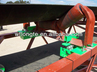 Conveyor belt scales system for weighing of bulk materials