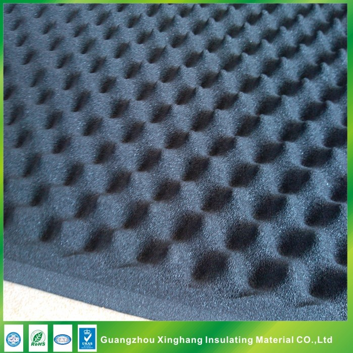 High Density acoustic foam soundproof material 25mm