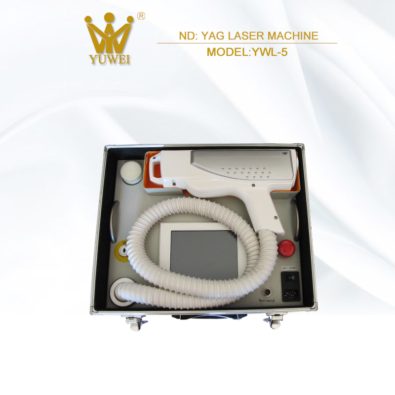 Cheapest price dermatology 1064nm 532nm nd yag laser equipment