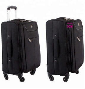 4b3931e46b26 TSA Lock Shenzhen Rolling Nylon Travel Luggage Bag Flight Trolley Suitcase  Luggage Bag 20