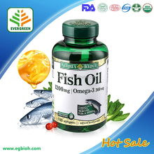 GMP Certified Omega 3 Fish Oil Softgel 1000mg Oem in bulk or Private label