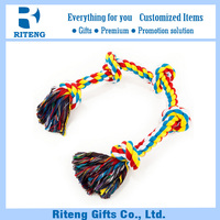 Wholesale cheap cotton rope pet toy for dog to chew