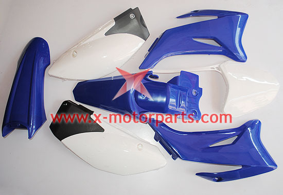 BLUE Plastic Fender Kit for TTR110 Styled 110/125/140/150cc Dirt Pit Trail Bike