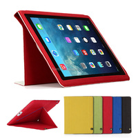 Guangzhou supplier PU leather case for Ipad air2 leather tablet case