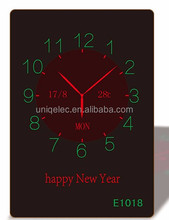 digital calendar large indoor digital clock digital wall clock thermometer